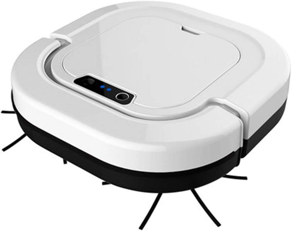 E-KIA Robot Aspirador De Limpieza (Limpieza De Polvo Y Pelos De Mascotas, SuccióN Fuerte, PlanificacióN De Rutas En Pisos Duros, Alfombras Y Todo Tipo De Pisos)