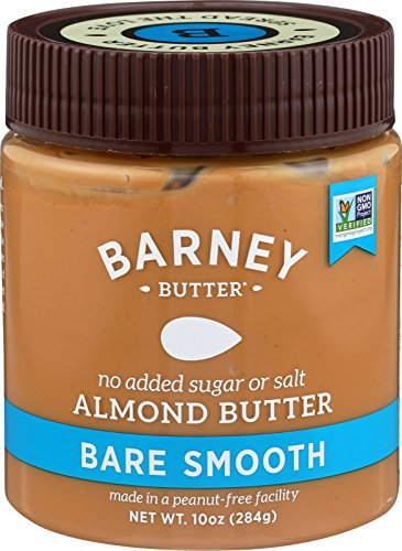 Barney Butter Almond Butter, Bare Smooth, 10 Ounce