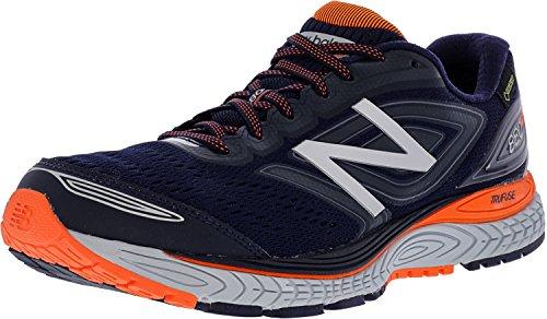 New Balance M880v7 Gore-TEX Running Shoes - SS18 Navy/Orang XqK7wCnI