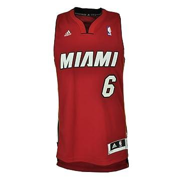 adidas NBA Swingman Jersey Camiseta XS Miami Heat– ...