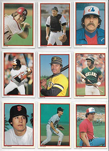 (1984 Topps Baseball Complete 40 Card Mail In Glossy All-Star Set)