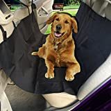 Zento Deals Black Premium Quality Vehicle Pet Hammock and Back Seat Protector with Safety Buckle For Pets  ✺ Traveling with your pets buddy will now be much enjoyable because of cleaner and safer car interior! The Zento Deals Black Premium Quality V...