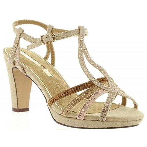 Sandali per Donna MARIA MARE 66207 C25769 SUEDI ARENA