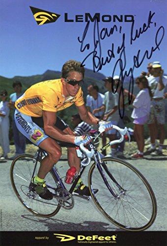 France Signed - CYCLIST Greg LeMond TOUR DE FRANCE autograph, signed photo