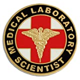 PinMart's Medical Laboratory Scientist MLS Lapel Pin