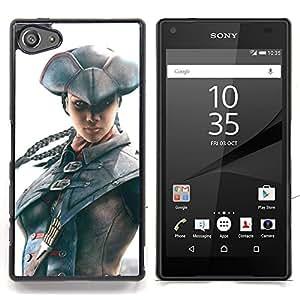 SKCASE Center / Funda Carcasa protectora - Pirata Assassin;;;;;;;; - Sony Xperia Z5 Compact Z5 Mini (Not for Normal Z5)