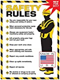 Algra Corporation  Workplace Safety Rules Poster 18' X 24' Poster (18' x 24')