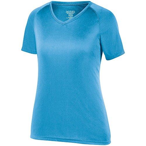 Augusta Sportswear Women's Attain Wicking Shirt L Power Blue