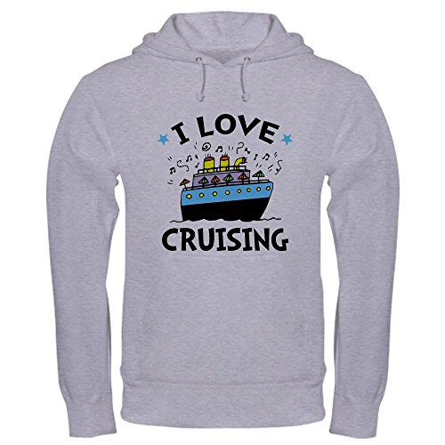 CafePress Little Cruiser Pullover Hoodie, Classic & Comfortable Hooded Sweatshirt Heather Grey ()