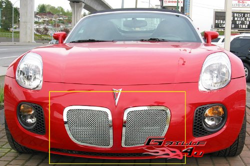 06-08 Pontiac Solstice Stainless Mesh Grille Grill - Solstice Accessories