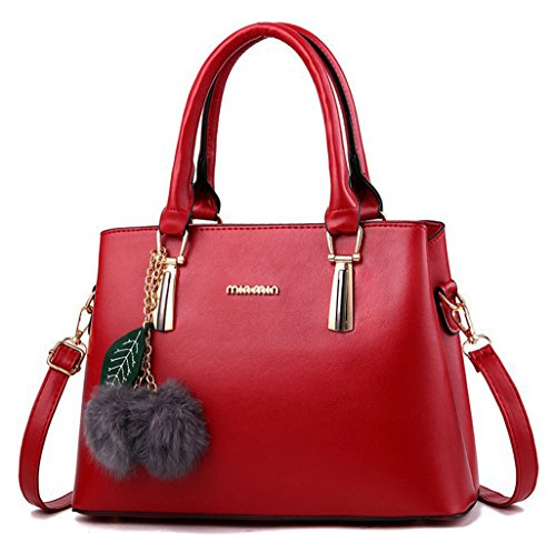 Red Satchel Handbags - 3