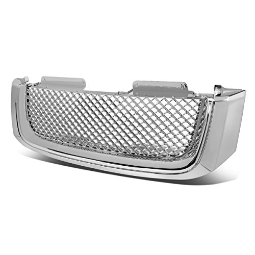 DNA MOTORING GRF-055-CH Front Bumper Grille Guard, Chrome