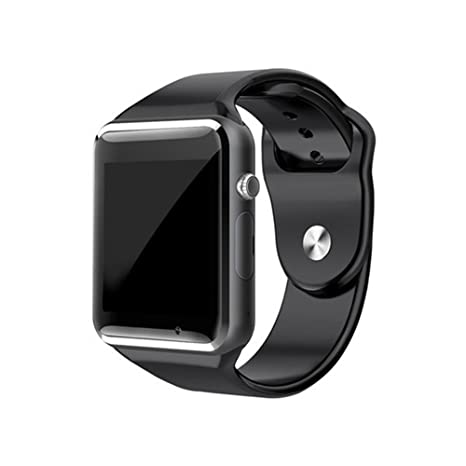 Amazon.com: yimohwang A1 reloj inteligente con bluetooth ...