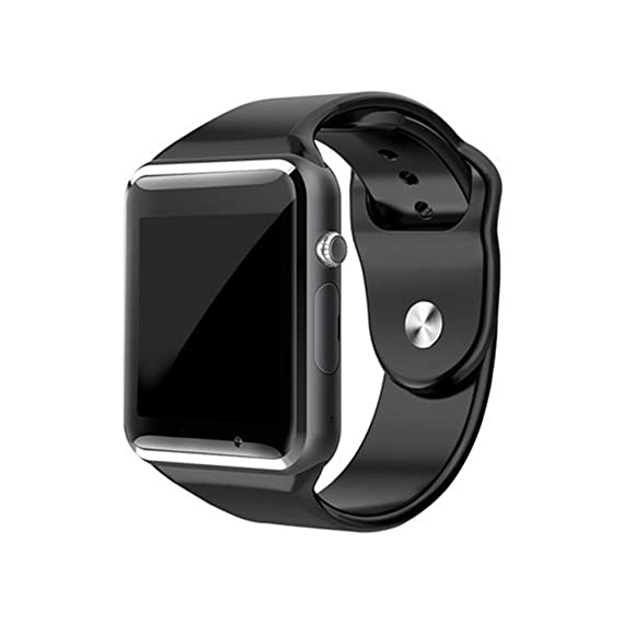 fdd0eec06 Image Unavailable. Image not available for. Color: A1 Smart Watch With  Passometer Camera SIM Card Call Smartwatch For Xiaomi Huawei HTC Android  Phone