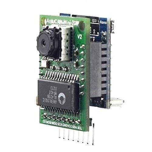 Arducam 2MP Camera Shield Evaluation Kit Mini Camera Shield OV2640 2  Megapixels Lens ESP8266 Nano V2 Board