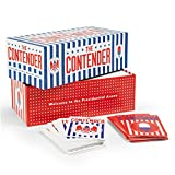 The Contender is a social card game inspired by the vim and vigor of a real presidential debate. To win, you must use fact, attacks and distracts to convince the moderator that you are fit to lead the free world. The deck brings you hundreds ...