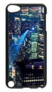 Brian114 Case, iPod Touch 5 Case, iPod Touch 5th Case Cover, A Busy City Retro Protective Hard PC Back Case for iPod Touch 5 ( Black )
