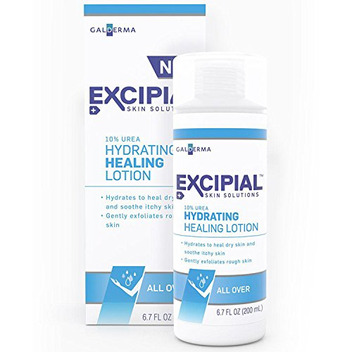 10% Urea Lotion - Excipial Urea Hydrating Healing Lotion, 6.7 Ounce (Pack of 2)