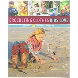 Quayside Publishing Creative International Crocheting Clothes Kids Love Book
