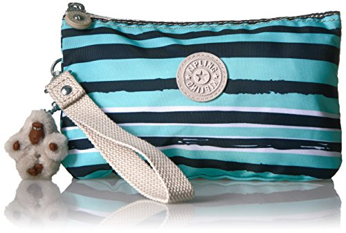 Kipling Creativity Extra Large Printed Pouch, Spectacle Stripe (Baby Pouch Sling Style)