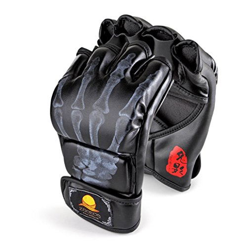 Tiger Claws MMA Gloves (Black) - 2