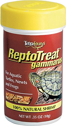 Reptomin Baby Sticks (TetraFauna RetoTreat Gammarus Whole Shrimp Treat for Reptiles.35 oz)