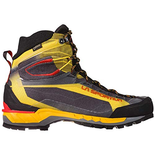 - La Sportiva Trango TECH GTX Hiking Shoe, Black/Yellow, 45.5