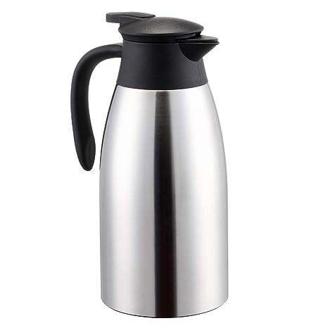 Amazon.com: Jarra térmica de café grande de 2 litros de ...