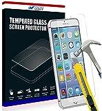 Film de protection d'écran en verre trempé pour écran IPHONE 5 / 5G / 5C / 5S / 5GS optimal et ultra dur