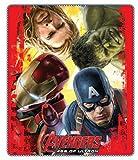 Avengers Age of Ultron Fleece Blanket Polar Fleece - Iron Man, Thor, Captain America & The Hulk
