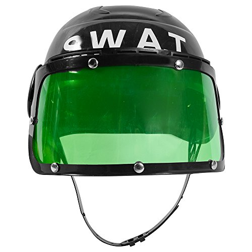 [Dress Up Hats - Swat Team Costume for Boys - Kids Swat Helmet - S.W.A.T. Hat by Funny Party Hats] (Swat Costumes Kid)