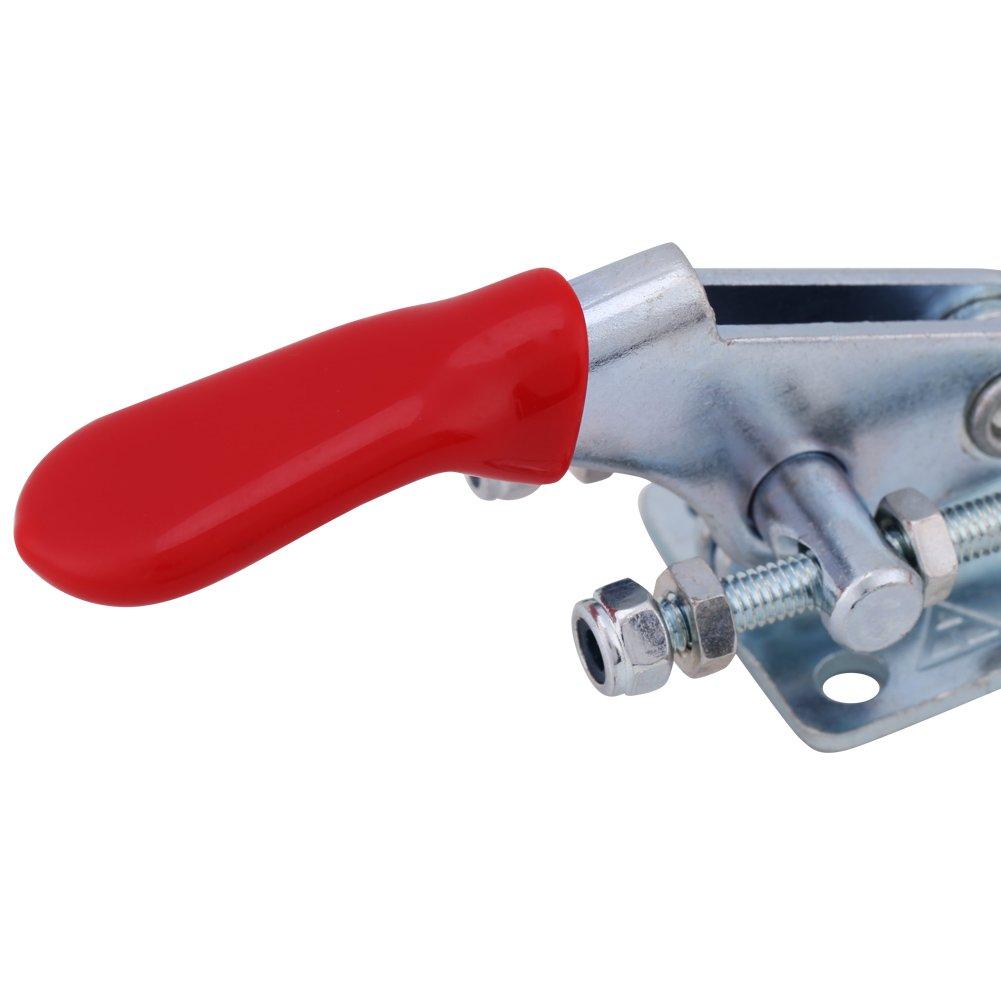 Akozon GH-40323 Lot de 4 pinces de serrage en U avec fermeture /à levier en m/étal r/ésistant Capacit/é 163kg//360lbs
