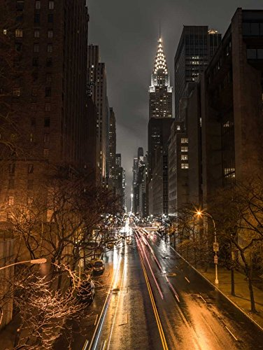 Feeling at home ROLLED-CANVAS-fine-art-print-Chrysler-Building-in-New-York-city-Architecture-47x35_in