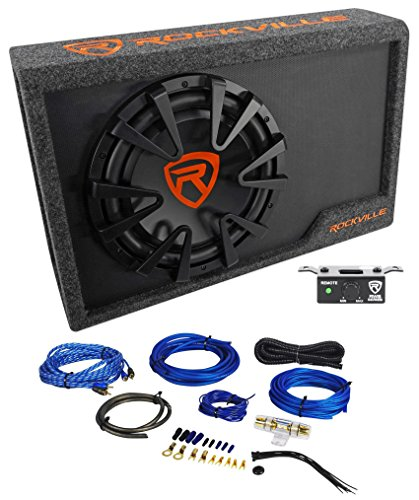 Car Boxes Audio Subwoofer (Rockville RWS12CA Slim 1200 Watt 12