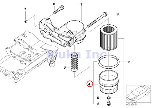 bmw 745li oil filter location