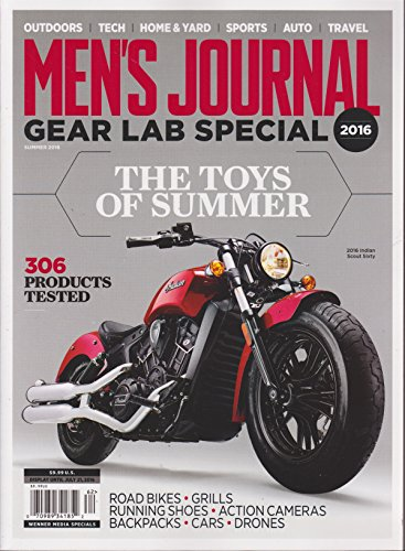 Men's Journal Gear Lab Special Magazine Summer - Gear Mens Journal