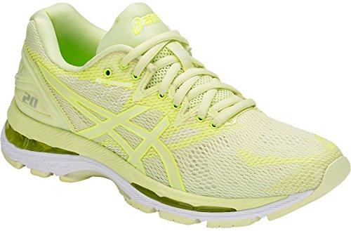 Price comparison product image ASICS Women's Gel Nimbus 20 Running Shoes,  Limelight / Limelight / Safety Yellow,  8.5 Medium US