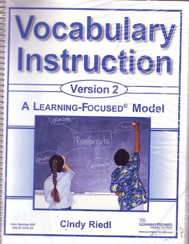 Download Vocabulary Instruction Version 2: A Learning-Focused Model #842 pdf epub