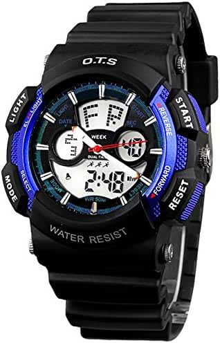 Youth outdoor sports watches/Fashion waterproof night electronic watch-H