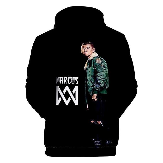 MR.YATCLS Marcus Und Martinus Neues Album FLAC M/änner Und Frauen Hoodie 3D HD Digital Fashion Print Sportjacke K/änguru-Taschenfans Favorit /…