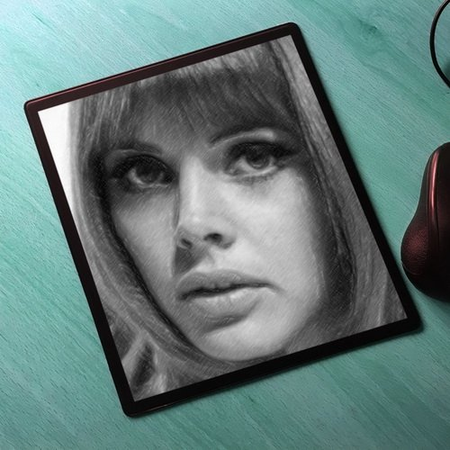 Island Wicker Man (Seasons Britt EKLAND - Original Art Mouse Mat #js003)