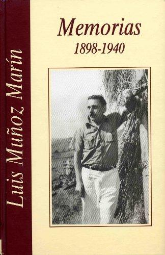 Memorias: 1898-1940(Spanish Edition)