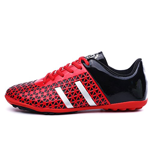 Xing Lin Botas De Fútbol Zapatos De Fútbol Juvenil De Fútbol Zapatillas De Entrenamiento Rota 41 42 43 Yardas red