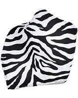 White Zebra Design Hankerchief Pocket Square Hanky Men's Handkerchiefs