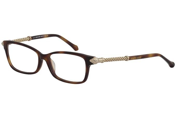 fbe15c5d182 Eyeglasses Roberto Cavalli BIENTINA RC 5020 052 dark havana at Amazon Men s  Clothing store