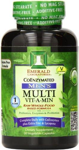 Multi vitamina laboratorios Esmeralda A-día hombres, cuenta 30
