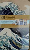 Hokusai Wave Japanese Medium Notebook Trio