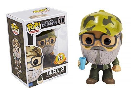 Funko Pop 7-11 Exclusive Duck Dynasty 78 Uncle Si Robertson Vinyl Figure