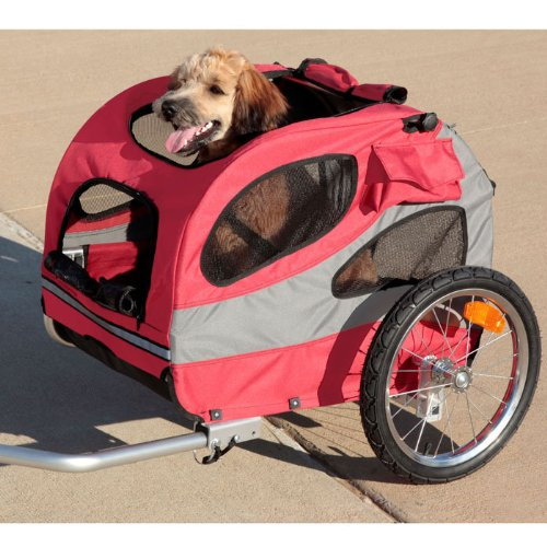 Solvit HoundAbout Pet Bicycle Trailer, Medium