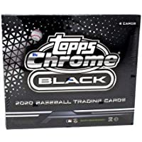 $184 » 2020 Topps Chrome Black MLB Baseball HOBBY box (4 cards/bx)